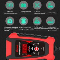 Chargeur de Batterie Moto Scooter 6A 2A 6V 12V 2A Intelligent +maintien 4-120Ah