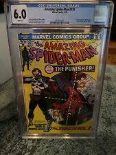 Amazing Spider-Man 129 CGC 6.0 White First Appearance Frank Castle The Punisher