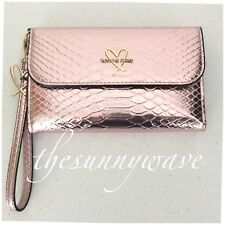Victorias Secret Tech Clutch Wristlet Case Purse Wallet iPhone 6/7 PINK python
