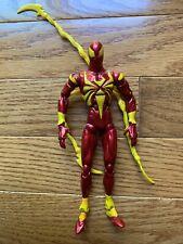2006 ToyBiz Marvel Legends Spider-Man Iron Spider loose complete