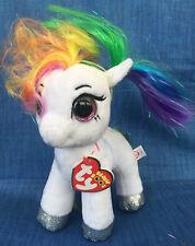 Ty Beanie Boos Starr The White Pony Regular Size