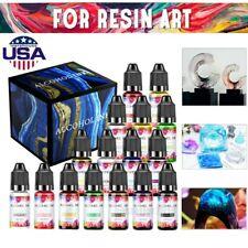 Epoxy Resin Pigment - 16Colors Epoxy UV Resin Dye Liquid Transparent for UV DIY