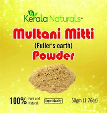 Pure Multani Mitti - Fullers Earth - Indian Healing Clay - Facial Clay Bentonite