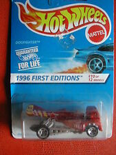 1996 FIRST EDITIONS N°10/12   DOGFIGHTER   1/64  HOT WHEELS BLISTE IMPORT US
