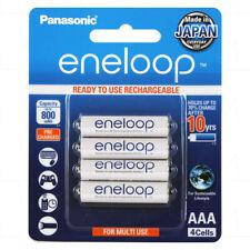 Panasonic Eneloop AAA NiMH Rechargeable Batteries x 4 - MADE IN JAPAN