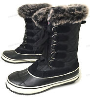 New Womens Winter Boots Fur Warm Insulated Waterproof Ski Snow Duck Shoes, Sizes