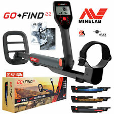 """Minelab Go-Find 22 Metal Detector with 8"""" inch 7.8 kHz Waterproof Search Coil"""