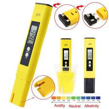 Portable Digital PH Meter Tester Pocket Pool LCD Pen for Water Wine Calibration