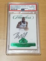 2017 Flawless EMERALD Bam Adebayo Auto RC PSA 10 Rookie Autograph /5 POP 1/1