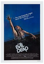 Horror: * The Evil Dead * Bruce Campbell Usa Movie Poster 1981 13x19