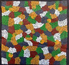 Dingo Kangaroo Aboriginal Art Dot Painting Alice Springs Uluru Australia emu