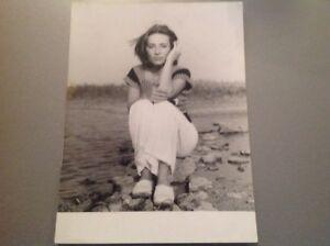 CATHERINE LARA  - Photo de presse originale 18x24cm