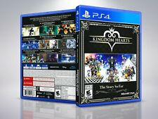 Kingdom Hearts The Story So Far - PS4 - Replacement - Cover/Case - NO Game