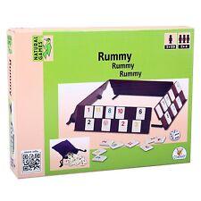 Natural Games 26721 RUMMY Reisespiel Rummikub Legespiel Denkspiel