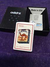 Camel Zippo Cz818 Camel Redislip Joker 100 Made. 2 Sided Sealed Rare L 09