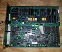VIRTUA STRIKER SEGA MODEL 2b ARCADE GAME PCB BOARD ORIGINAL WORKING set