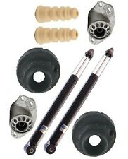 VW Jetta 01-04 1.9L Rear Left & Right Shocks & Shims Suspension KIT Bilstein TC