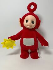TELETUBBIES toy DANCING PO NEW 3 songs talking jumping 9 phrases red plush rare