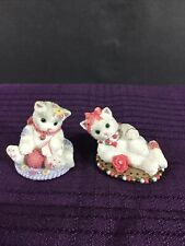 1998 2 Mini Calico Kittens #454788 #465607 Rare Htf