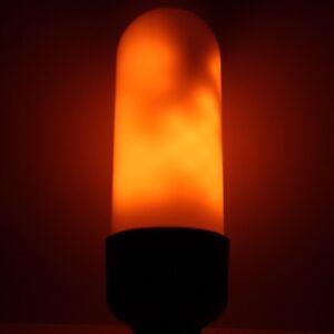 Flickering Flame Bulb - LED, real flame, B22, E27, light bulb