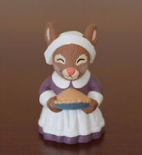 Hallmark Merry Miniatures Figurine Thanksgiving Pilgrim Rabbit (1994)