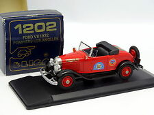 Eligor 1/43 - Ford V8 1934 Los Angeles Pompiers