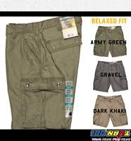 "CARHARTT Mens 11"" Rugged Cargo Shorts Relaxed Fit Cotton Khaki Gravel #100277"