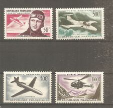 TIMBRE FRANCE FRANKREICH POSTE AERIENNE 1955/59 PA N°34/37 NEUF* MH