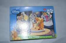 Disney Lady And The Tramp Jigsaw Puzzle 100 pieces