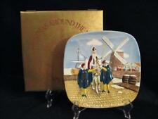 Royal Doulton Group John Beswick Ltd. 1976 Christmas In Holland Plate In Box