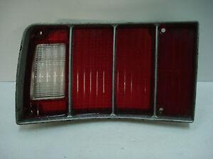 1974-1976 Chevrolet Impala & Caprice Station Wagon LH Taillight Lens