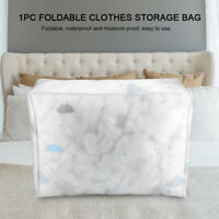 Foldable Home Clothes Quilt Pillow Blanket Travel Luggage Storage Organizer Bag