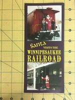 Vintage Travel Brochure Santa Visits the Winnipesaukee Railroad New Hampshire