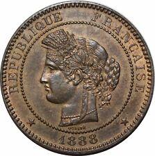 O288 Rare 10 Centimes Cérès 1888 A Paris SPLENDIDE +++ FDC  > Faire offre