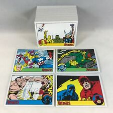 MARVEL COMICS THE AVENGERS SILVER AGE 2015 Rittenhouse Complete Card Set (1-100)