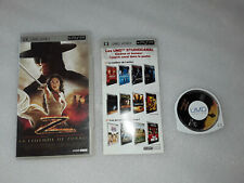 Film UMD LA LÉGENDE DE ZORRO  Psp PlayStation Sony