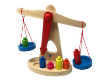 Bilancia giocattolo bambini con 6 pesi gioco didattico giochi educativi bimbi