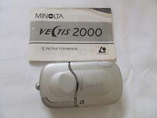 MINOLTA VECTIS 2000 35MM CAMERA WITH PANORAMA CAPABILITIES