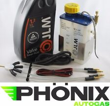 JLM Autogas Ventilschutz Set 4-Zylinder LPG KME Valve Saver Lube Fluid