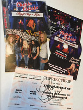 "Cherie Currie of The Runaways ""Midnight Music In London"" Live CD w/autograph tix"