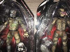neca Battle Damaged and Classic Unmasked Predators Berserker Mcfarlane Horror