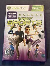 Kinect Sports (Microsoft Xbox 360, 2010) Requires Kinect Sensor, No Manual