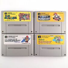 SUPER MARIO COLLECTION RPG PAINT Yoshi's Road Hunting set 4 SNES SFC USED 531-11