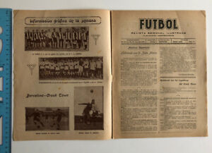 1921 Barcelona V Crook Town Spanish Futbol 06/04/21