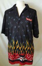 Vintage 1990s S/S Las Vegas High Roller Mens Shirt by Discount Custom Apparel XL