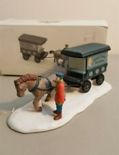 Dept 56 Christmas In The City Accessory 1989 River Street Ice House Cart 59595