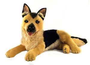 German Shepherd/Alsatian Plush Stuffed Toy Dog 40cm/16in King by Bocchetta