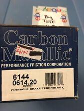 Performance Friction 0614.20 Carbon Semi-Metallic Front disc pads 6144 GM D614