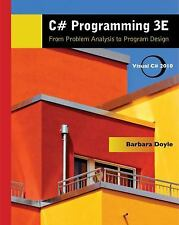 Introduction to Programming: C# Programming : From Problem Analysis to...
