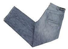 Calvin Klein CK Designer Blue Jeans 38x35 Straight Leg Medium Wash Cotton Denim